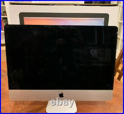 2017 APPLE iMac 21.5-Inch Core i7 COMPUTER with HD (for parts/repair) withbox