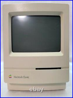 Apple M0420 Macintosh Classic Computer For Parts/ Repair AS-IS