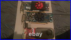 Computer parts lot (graphics cards, pci cards, processors, ram and misc)