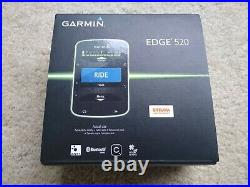 Garmin Edge 520 GPS Bike Computer. BOXED. Some parts new (sealed) Cycling PC