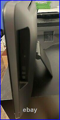 Hp all in one used desktop computer black (for parts)