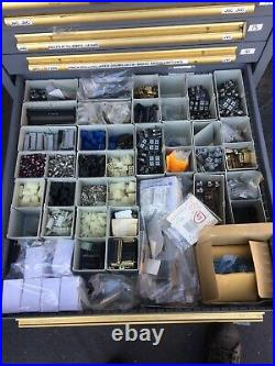 Huge Lot Of Audio Electronic Components, Spare Parts, Connectors &Computer Chips