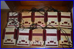 Junk Famicom Console 10 LOT set for Parts Untested Nintendo game family computer