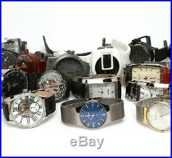 Lot Of 20 Watches Skagen Kenneth Cole Akribos XXIV For Parts Or Repairs Used