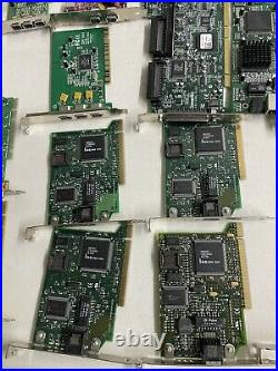 Lot of 35+ computer parts pci msi cnet d-link creative lab