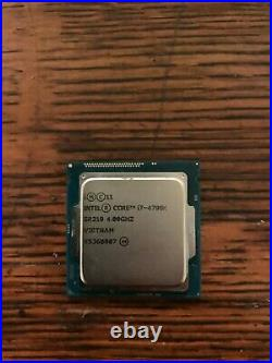 Lot of decent gaming computer parts I7 4790k with ssd/ram/psu/mobo