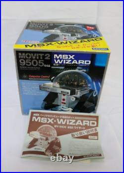 MSX WIZARD Robot, Movit 2, Vintage Personal Computer, For Parts Only, From Japan