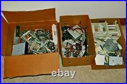 Misc Lot of Computer Parts, DVD Drives, 3.5 drives, Cables and Accessories