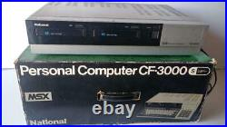 National CF3000 MSX Personal Computer Junk for Parts from Japan mu801