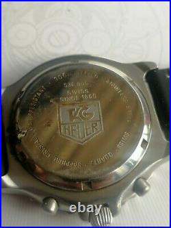 Tag Heuer Chronograph Pilot Watch. Ref 530 806. Working Fine. For Parts/restore